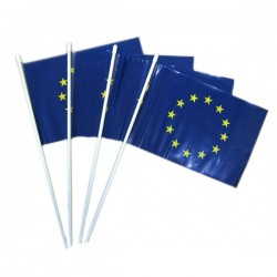 EUROPEAN SMALL FLAGS TO WAVE