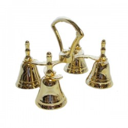 ALTAR BELL WITH FOUR RINGS