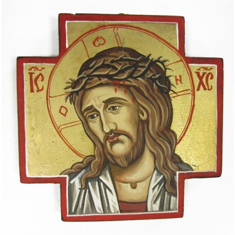 ICON WITH THE CHRIST'S FACE