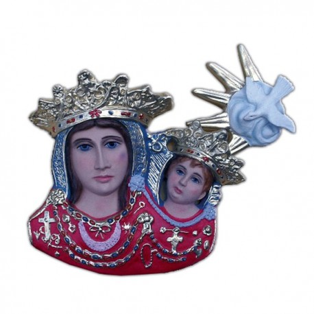 VIRGIN OF THE BOW HALF CHEST TO HANG UP
