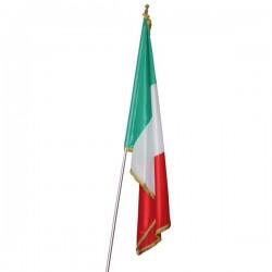 FLAG OF ITALY WITH FRINGE