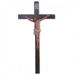 CRUCIFIX WITH CROSS (50 CM.)