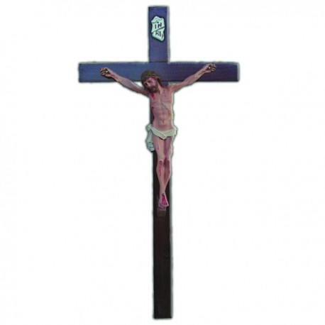 CRUCIFIX WITH CROSS (80 CM.)