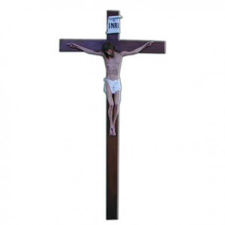 CRUCIFIX WITH CROSS (140 CM.)