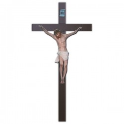 CRUCIFIX WITH CROSS (180 CM.)