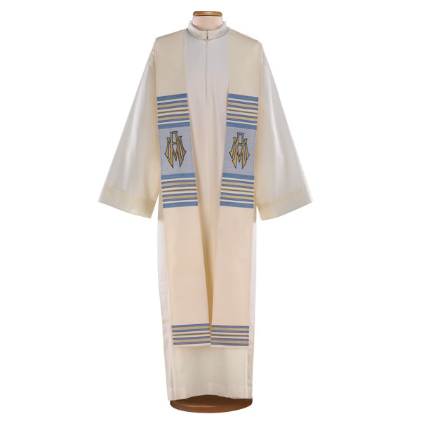 molti stili miglior sito ultimo design Wool, acrylic and lurex hand-embroidered marian chasuble.