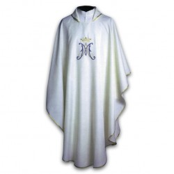 EMBROIDERED MARIAN CHASUBLE