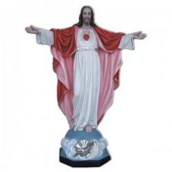 SAGRADO CORAZÓN DE JESÚS CON BRAZOS ABIERTOS