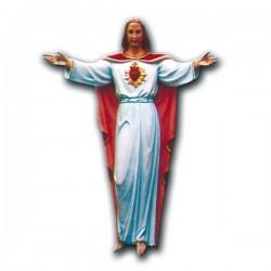 SAGRADO CORAZÓN DE JESÚS CON BRAZOS ABIERTOS PARA COLGAR