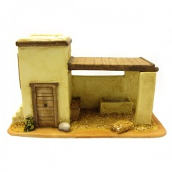 HOUSE FOR THE NATIVITY SCENE