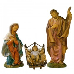 UNBREAKABLE NATIVITY SCENE 3 PIECES