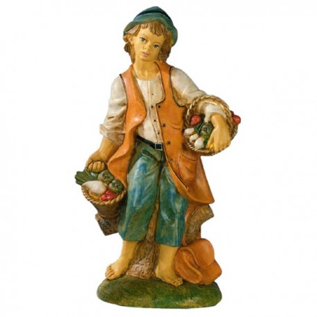 SHEPHERD WITH VEGETABLES