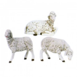SET OF THREE SHEEPS