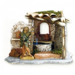 FUNCTIONING FOUNTAIN FOR NATIVITY SCENE