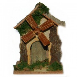 FUNCTIONING MILL FOR NATIVITY SCENE