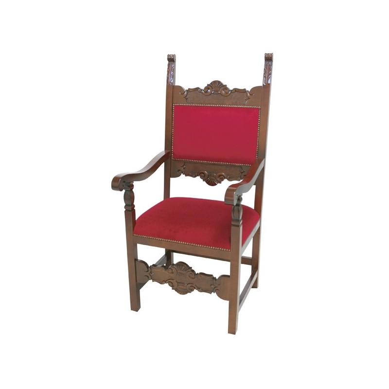 serie de sillas escabeles y sill n de pintura nuez con