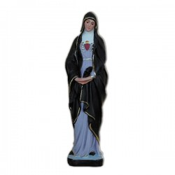 OUR LADY OF SORROWS WITH HEARTH AND SWORD