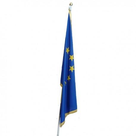 BANDERA DE EUROPA CON FRANJA