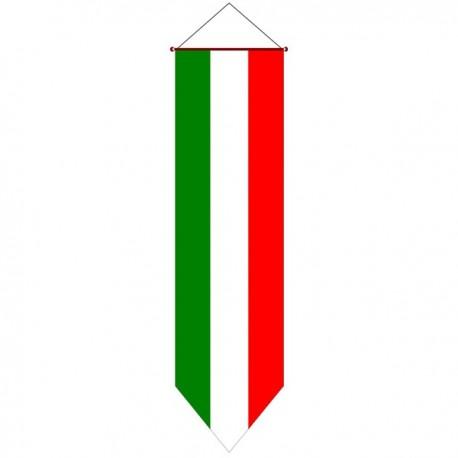 BANDIERA ITALIA VERTICALE DA APPENDERE