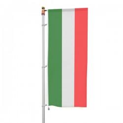 BANDIERA ITALIA VERTICALE B/G