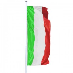 BANDERA VERTICAL DE ITALIA