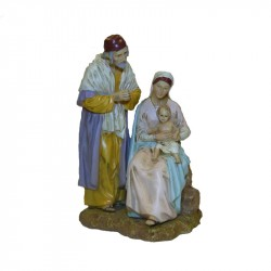 RESIN NATIVITY SCENE 3 PIECES
