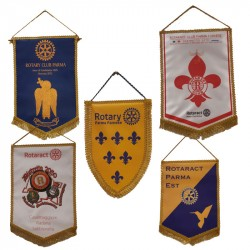 PENNANTS ROTARY-ROTARACT