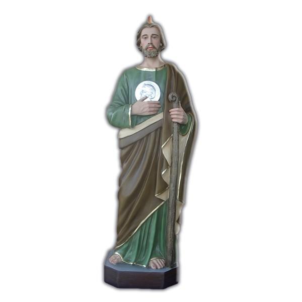 statue of saint judas the apostle of 85 cm