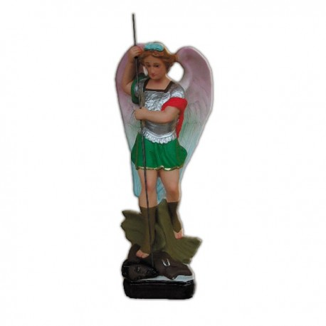 SAINT MICHAEL THE ARCHANGEL WITH SPEAR