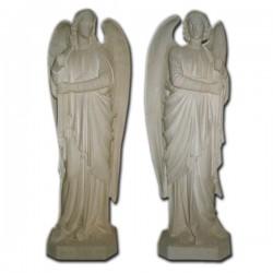 ANGELI IN PIEDI PORTACANDELE