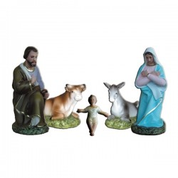 5 PIECES NATIVITY
