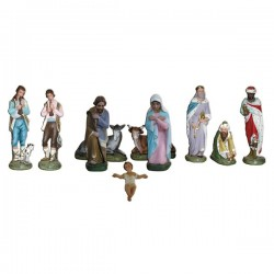 10 PIECES NATIVITY