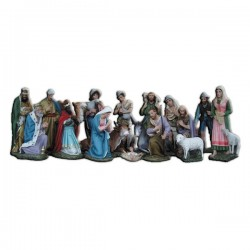 18 PIECES NATIVITY