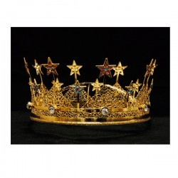 CROWN WITH STONES
