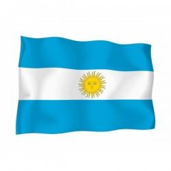 BANDIERA ARGENTINA CON STEMMA