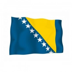 FLAG OF BOSNIA
