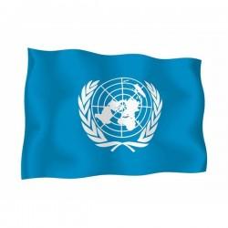 FLAG OF O.N.U.