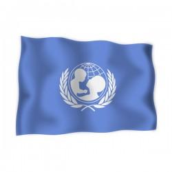 FLAG OF UNICEF