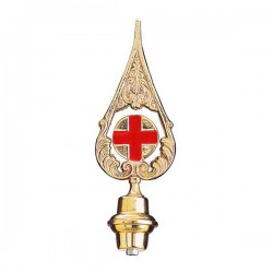 RED ITALIAN CROSS SPEAR