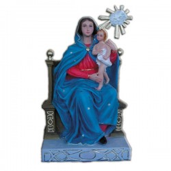 SEATED VIRGIN OF THE BOW WITHOUT CROWNS