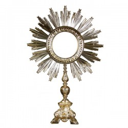 BAROQUE MONSTRANCE FOR MAGNA HOST