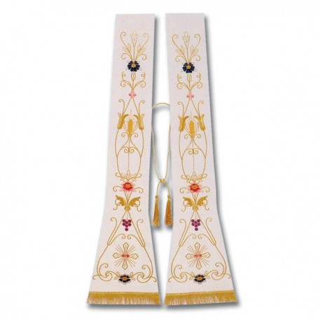 EMBROIDERED ROMANIC STOLE