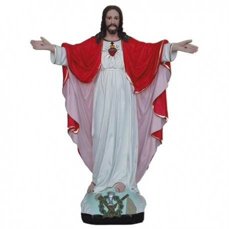 SACRED HEART OF JESUS WITH OPEN ARMS