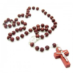 ROSARY OF SCENTED WOOD