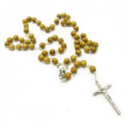 ROSARY OF OLIVE WOOD