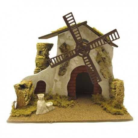 MILL FOR THE NATIVITY SCENE
