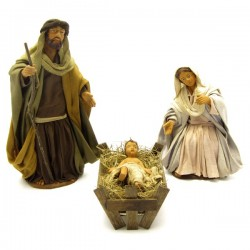 NATIVITY WITH 3 PIECES