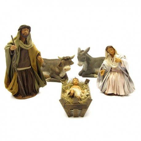 NATIVITY WITH 5 PIECES