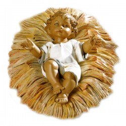 BABY WITH CRADLE