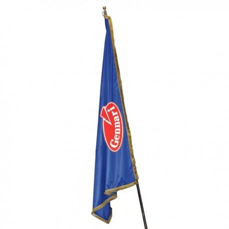 PERSONALIZED FLAG WITH FRINGE